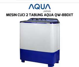 Mesin Cuci AQUA AQR-880XT Hijab series Garansi 5Thn, Jagonya MesinCuci