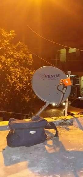 Era baru parabola mini untuk siaran televisi jernih tanpa bulanan