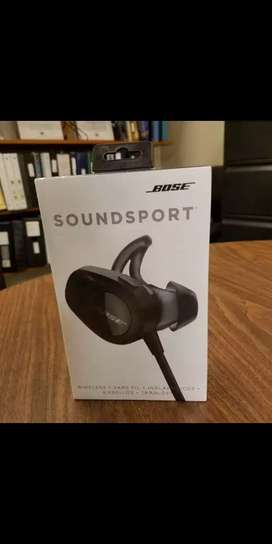 Bose SoundSport Wireless Earphones (black, sealed, 2020)