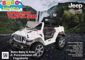 Mainan Mobilan Aki GARANSI MESIN Yukita Jeep 938 Mobilan Aki Anak Jeep