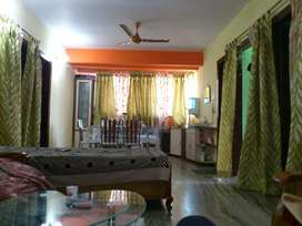 Fully furnished flat with car parking. Fixed price