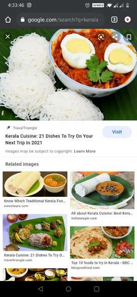 Cook for Kerala cuisine Only!