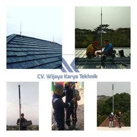 Free Instalasi Penangkal Petir Alat Keamanan Rumah, Kantor, Pabrik DLL