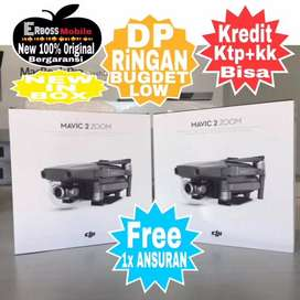 Kredit Cepat No Lebay DP2,7Jtaan DJI Mavic 2 Zoom Drone New