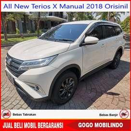 [Dp30jt] All New Terios X Manual 2018 Orisinil Bisa Kredit