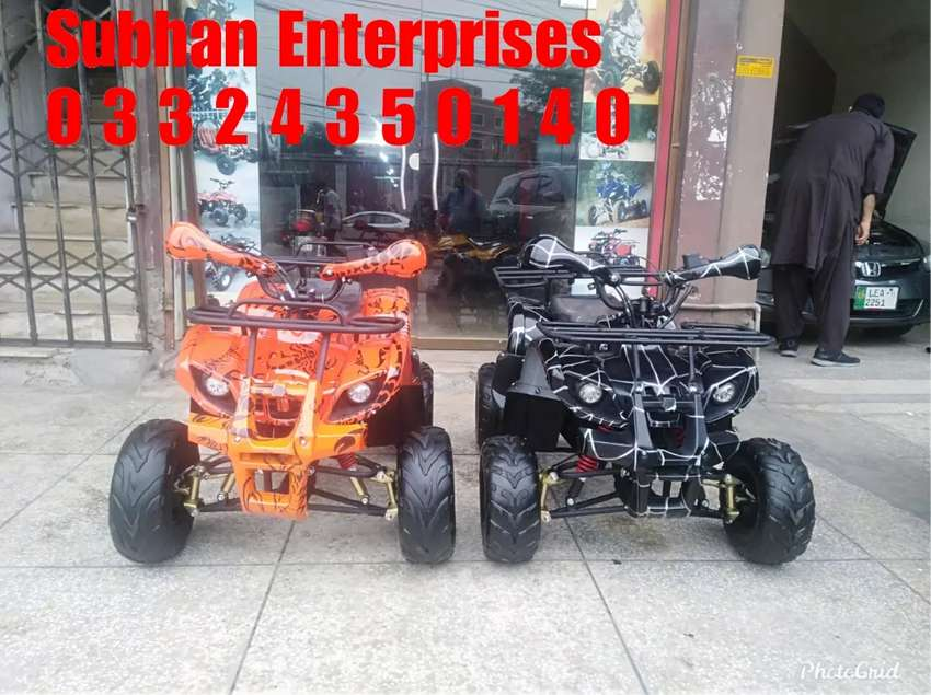 Self Start Automatic Gear System Atv Quad 4 Wheel Bike Available Here 0