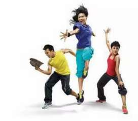 Zumba Aerobics & Bhangra classes at your place & home