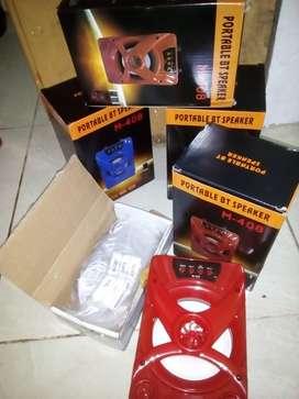 Speaker bluetooth fortable & headset
