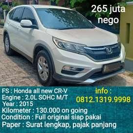 Honda CR-V Manual 2015