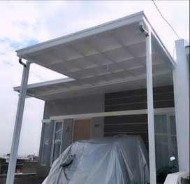 Jasa pemasangan canopy kinerja cepat rapi