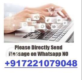 Get Paid Daily    300 Rs. Per Page Typing    100% Daily Payout.!!