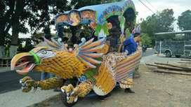 kereta motor kencana Garuda spon ati odong 2 Kece DO