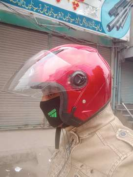 Bike helmat...half face
