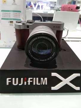 Cicilan Camera Fujifilm X-A3 tanpa kartu kredit free 1x angsuran