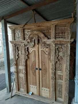 cuci gudang pintu gebyok gapuro jendela rumah masjid musholla muhyidi