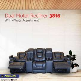 3816 Imported Recliner three seater