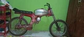 Kerangka motor honda s90z