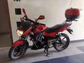 Motor Bajaj Pulsar 180 DTSI Kondisi Istimewa Km Rendah