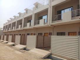 Newly constructed 3 bhk duplex row houses