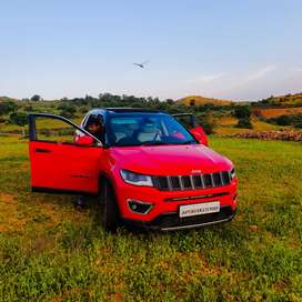 Jeep Compass Limited Plus-Top end version-4×2- Red colour 7 months old