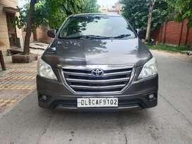 Toyota Innova 2.5 G (Diesel) 8 Seater BS IV, 2014, Diesel