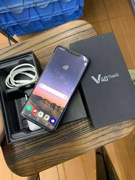LG V40 ThinQ 6/64GB NFC Snapdragon 845 SingelSIM Triple Camera Mulus
