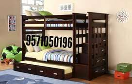 Brand new sheesham solid wood bunk bed