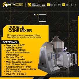 Mesin Mixer Double Cone