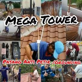Agen Jual Dan Pasang Penangjal Petir Di Wilayah kota metro / Lampung