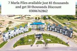Investors price 7 Marla available Blue World City