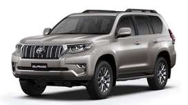New Toyota LAND CRUISER Prado for ₹ 5 Lakhs Down-Payment