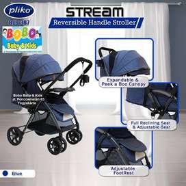 Stroller Pliko BS 387 Stream Terbaru – Kereta Dorong Bayi Pliko BS 387