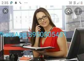 Receptionist & personal secratary