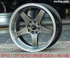 """Velg Mobil JF LUXURY GTF01 17"""" 4X100 4X114.3"""