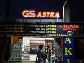 Agen resmi aki GS Astra Honda Brio RS tipe w