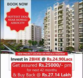 2BHK- 875 sq.ft for investment