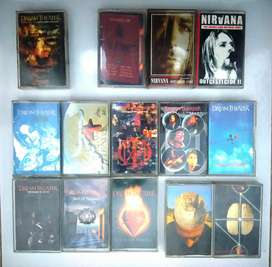 Kaset Tape Pita Dream Theater Shadow Gallery Mullmuzzler dan Nirvana
