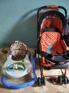 Jual borongan baby Walker+ stoler