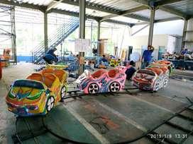 kereta rel bawah lantai mini roller coaster odong diskon 500k KOMPLIT