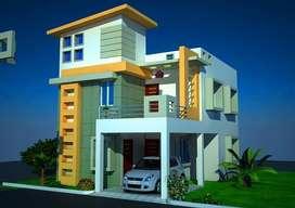 3BHK BDA APPROVED DUPLEX HOUSE FOR SALE NEAR PATIA BIG BAZAR