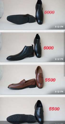 Original leather shoes for sale