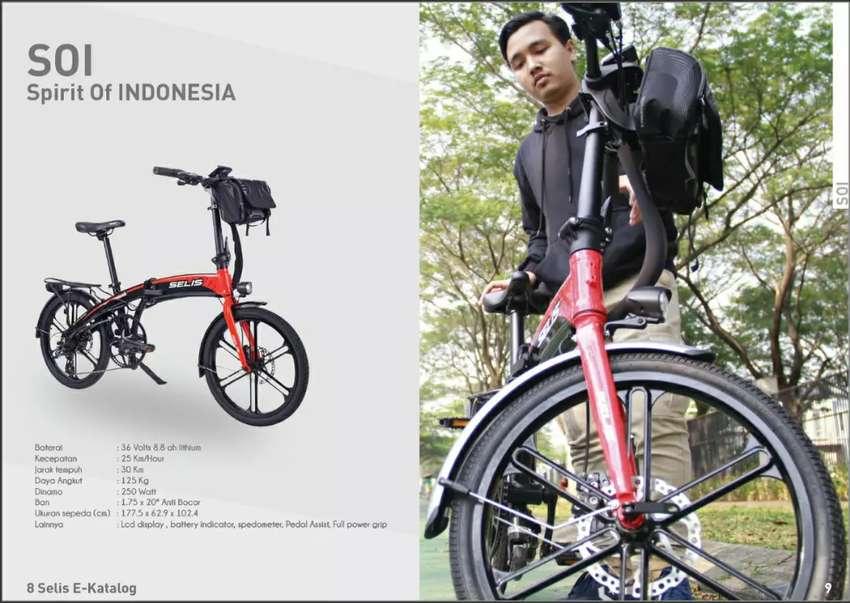Sepeda lipat listrik selis 0