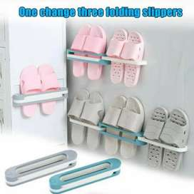 *New Arrival* 3 Step Wall Mounted Foldable Slipper Frame @