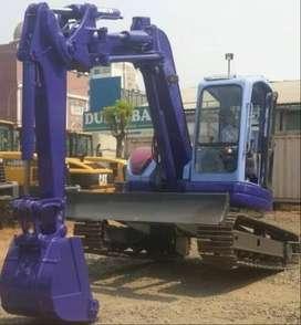Jual Alat Berat Excavator Komatsu PC75UU-3 Ex Import tahun 2018