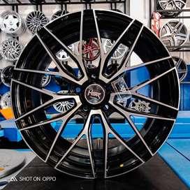 velg baru untuk xpander ring 18 warna black polish