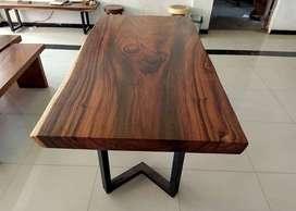 Furniture Meja Makan Trembesi - meja Suar code R3C