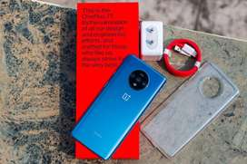 One plus 7T is available with us in used condition .