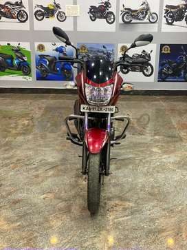 TVS Star city model 2012 red and White colour