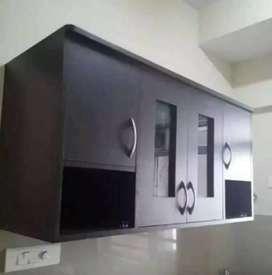New Brown Kitchen Cabinet