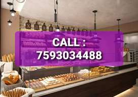 Wanted showroom staffs for sweets and bakery showroom